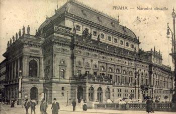 Praha. Genius loci Divadlo