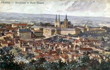 Praha. Genius loci Hradcany