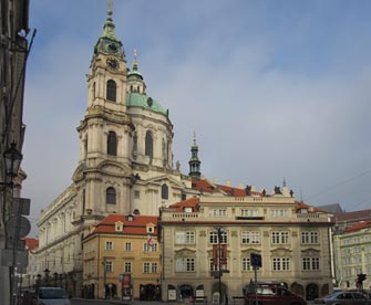 Praha. Genius loci Mikulas